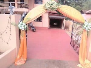 Goan Wedding Decorators in North Goa