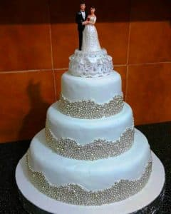 Wedding Fondant cakes Goa