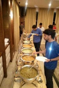 Delicious Indian Buffet