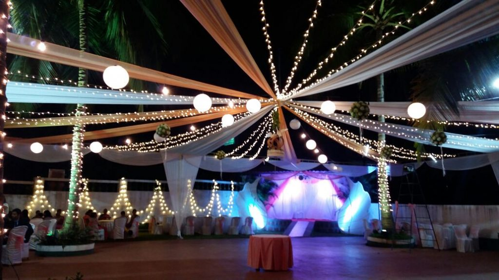 Open Air Venue in Goa for Weddings