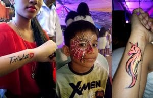 Face Painting Goa