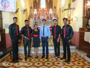 finest Wedding Choir North Goa