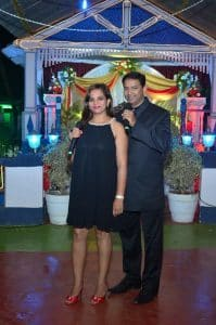 Couple Emcees For Occasions