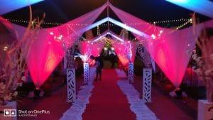 Open Air Halls for Weddings Goa