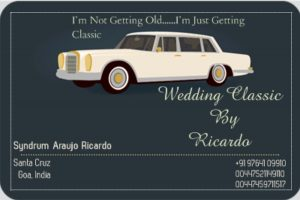 Antique Wedding Car Goa