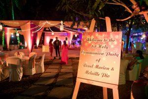 Open Air Garden Venue Goa
