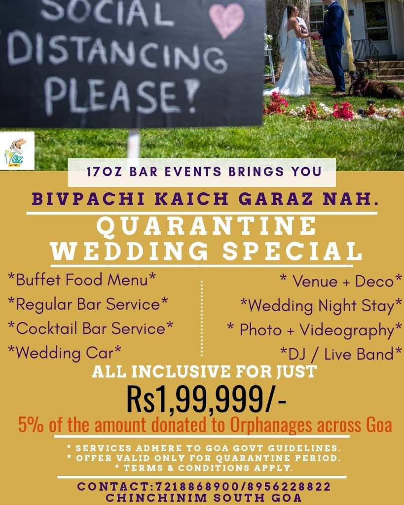 Weddings in Goa Post COVID