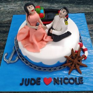 Customized Wedding Bachelorette Cakes Goa