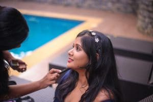 Professional Makeup and Hair styling Goa
