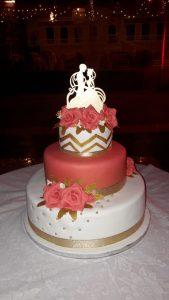 Custom made Cakes for Weddings