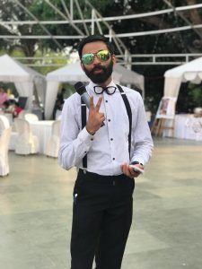 Emcee in Goa