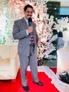 Jovial and Vibrant Emcee for all your occasions in Goa