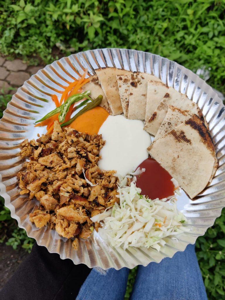 Shawarma in a Plate Goa