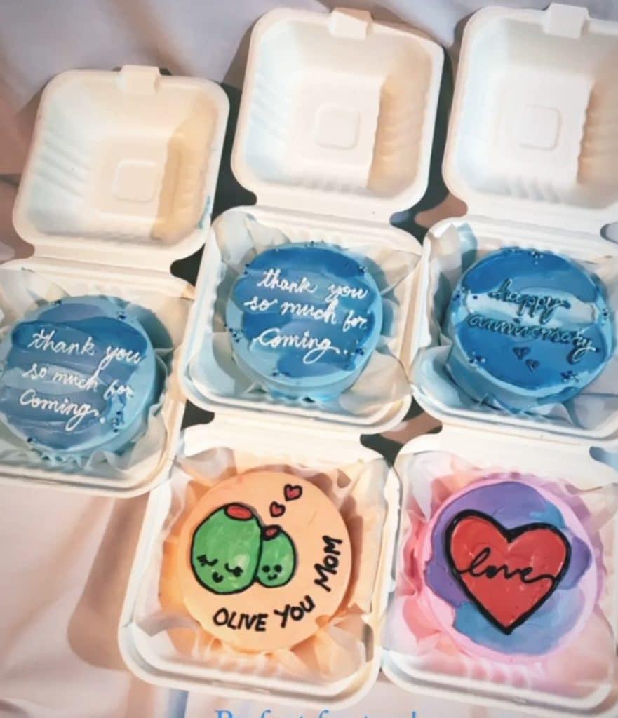 Bento Box Cakes Goa