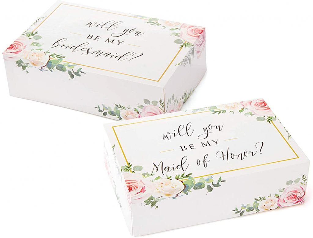 Bridesmaid Proposal Boxes in Goa